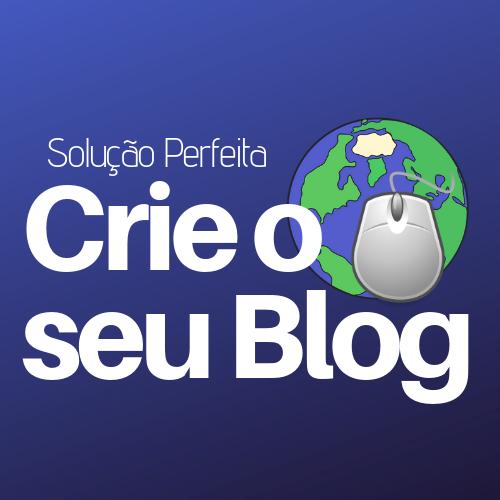 Crie o seu blog